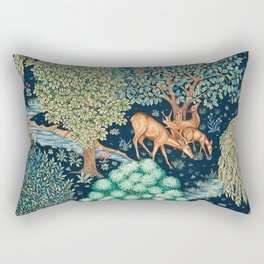"William Morris ""The Brook"" Rectangular Pillow"