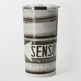Senso Unico - One Way Travel Mug