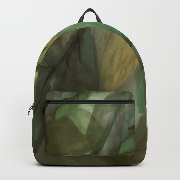 The Beginning of Autumn Abstract Backpack