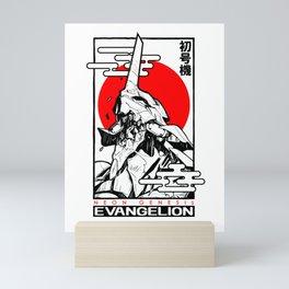 Evangelion unit japan Mini Art Print
