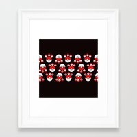 pokeball Framed Art Prints featuring Pokeball Print by UMe Images