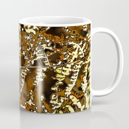 Abstract autumn fern leave Coffee Mug