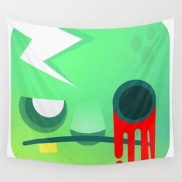 Zombie cube Wall Tapestry