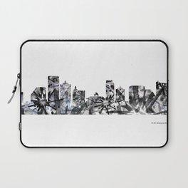 Atlantic City B&W - Splatter Laptop Sleeve