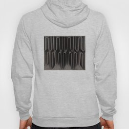 Industrial Waves | Metal Abstract  Hoody