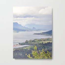The View from Vista House, Oregon Metal Print