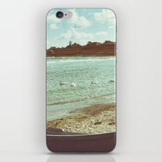 Swans in a lost fishing village iPhone & iPod Skin