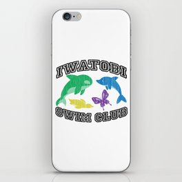 Iwatobi Swim Club iPhone Skin