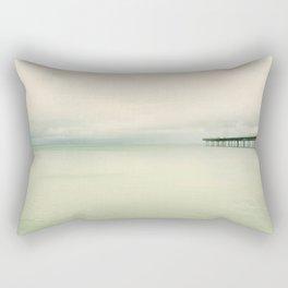 End of the Pier Rectangular Pillow
