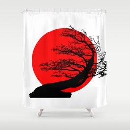 Bonsai Japan Shower Curtain