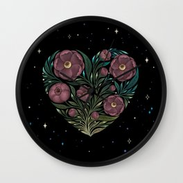 Heartful of Love Wall Clock
