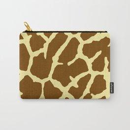 Giraffe Print Carry-All Pouch