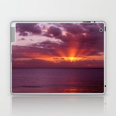 Let the new day lift your spirits to the sky Laptop & iPad Skin