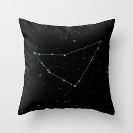 Capricornus 'The Sea-Goat' Constellation Throw Pillow