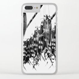 Flying Fish Clear iPhone Case