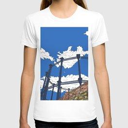 London Regent's Canal Gas Tower T-shirt