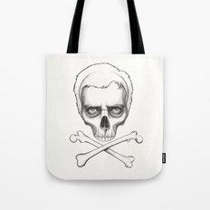 Everybody Dies - House MD Skull Crossbones Tote Bag