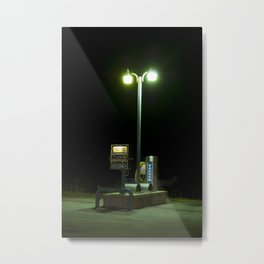 Car Wash Vacuum, Shrewsbury, WV  Metal Print