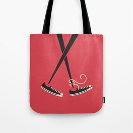 Chopstick Chucks Tote Bag