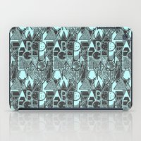 alphabet iPad Cases featuring Alphabet by Clare Corfield Carr