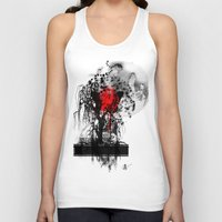japan Tank Tops featuring Japan by Annabelle Vauvrecy