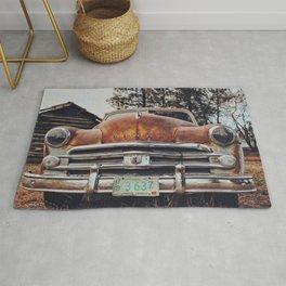 Rusty Car Rug