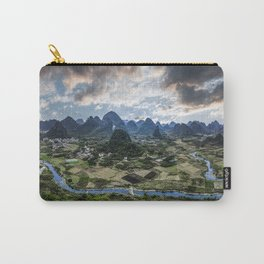 Karst Pinnacle landscape of Guilin Carry-All Pouch