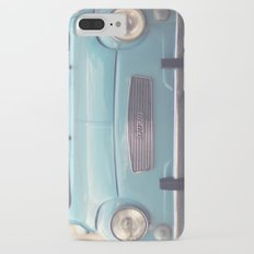 Mint - Blue Retro Fiat Car  iPhone 7 Plus Slim Case