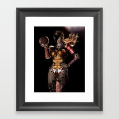 It's Only Smoke and Mirrors Framed Art Print