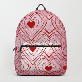 Heartbeat - Romantic - Valentines Day Backpack