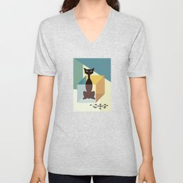 Schrodinger's cat Unisex V-Neck