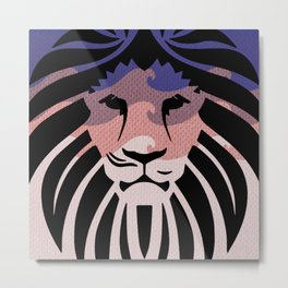 Lion of Judah II Metal Print