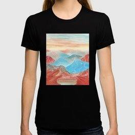Lines in the mountains XX T-shirt