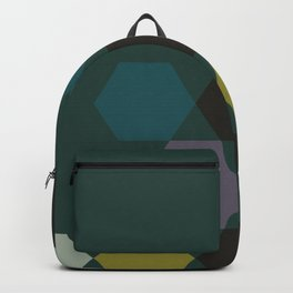 cluster || green night Backpack