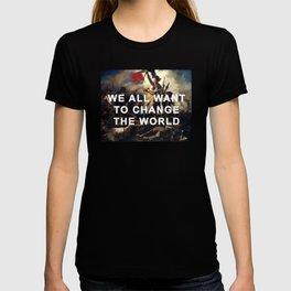 Liberty Leading the Revolution T-shirt