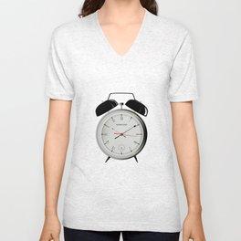 Alarm Clock Unisex V-Neck