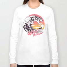 Wolf Beach Long Sleeve T-shirt