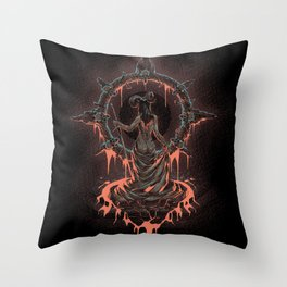 The Void Frame Throw Pillow