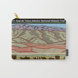 Vintage Poster - El Camino Real de Tierra Adentro National Historic Trail (2018) Carry-All Pouch