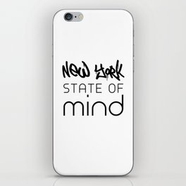 NY State of Mind iPhone Skin