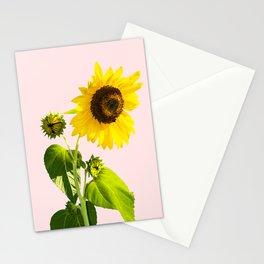 Sun Flower || #society6 #decor #buyart Stationery Cards