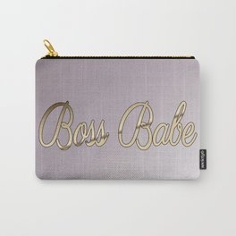 BossBabe Carry-All Pouch