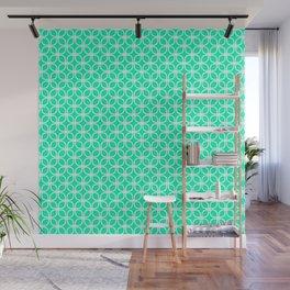 Trellis_Mint Green Wall Mural