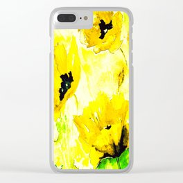 FLORAL#03 Clear iPhone Case