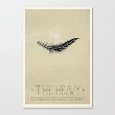 The Heavy Canvas Print