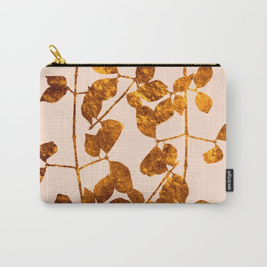fall golden leaves Carry-All Pouch