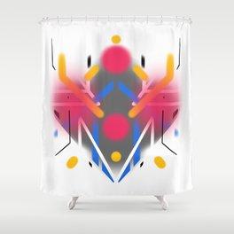 KUMADORI 03 Shower Curtain