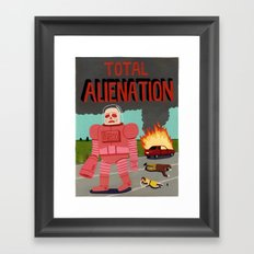 Total Alienation Framed Art Print