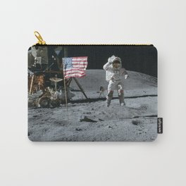 Apollo 16 - Astronaut Moon Jump Carry-All Pouch