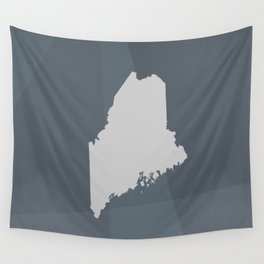Maine State Wall Tapestry